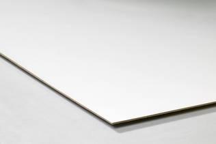 Klik voor een vergroting van Wit lakmdf/Hardboard